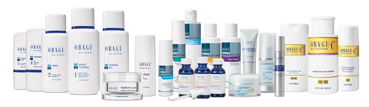 Obagi Product Range